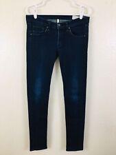 40c413f3b Rag & Bone Womens Size 29 Olive Harrow Low rise Dark Wash Skinny Jeans