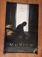 """Original 2005 """"MUNICH"""" 27""""x 40""""  d/s Theater Light Box Movie Poster Double Sided"""