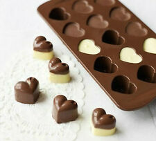 Heart Shaped Birthday Party Silicone Non Stick Cake Chocolate Mould Baking Tray