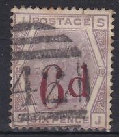 BD349) Great Britain 1881 6d Surcharge SG 162a