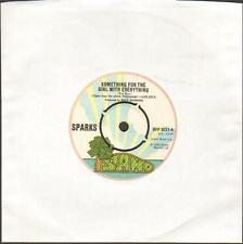 """SPARKS Something For The Girl With Everything  7"""" B/W Marry Me, Wip.6221 (Vinyl"""