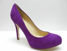 Ivanka Trump Fuschia Purple Suede Leather Pumps 9.5M 9.5 NEW MSRP $128.