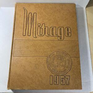 DePauw University 1957 Yearbook Greencastle Indiana Mirage