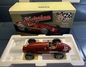 1/18 Motorbox / Exoto Ferrari 500 F2 # 10 With Original Box. Éxoto GPC97193