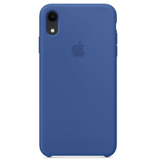 iPhone XR 6.1″ Apple Genuine Original Silicone Protective Cover Case Delft Blue