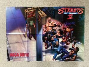 Streets Of Rage II 2 Sega Mega Drive Advanced Gaming Magazines 1992 Posters Game