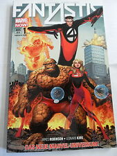 1x Comic Marvel Now -Fantastic Four 4 - Band 1- Der lange Abschied - TOP