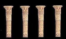 Roleplay 25mm 28mm Scenery D&D Warhammer Heroquest - Hieroglyphic Pillars