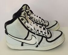 Nike Men's High Tops White Black Sneakers Basketball Shoes US Sz 10 UK Sz 9  #S8