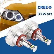 1 Paar 32W H8 LED Angel Eyes Standlicht für BMW E82 E87 E88 M6 F01 E84 E89 Z4