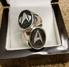 One Of A Kind. Star Trek Next Generation Custom Rings & First & Last Dc Comic