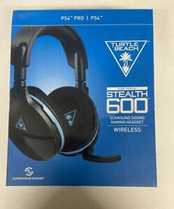 Turtle Beach Stealth 600 Black and Blue Headband Headsets for Multi-Platform