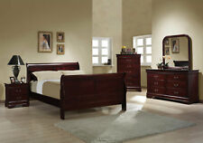 Coasters Furniture Louis Philippe Queen 6 Piece Bedroom Set