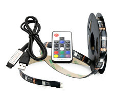 USB Remote Control 60LED RGB TV PC Background Light Strip-20 Colours-22 modes