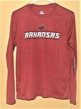 Colosseum Boys Arkansas Razorbacks Long Sleeve Shirts Youth Size L 16-18 NWT