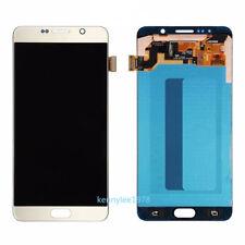 Para Samsung Galaxy Note 5 SM-N920F N920C Pantalla LCD Táctil Display Oro+cover