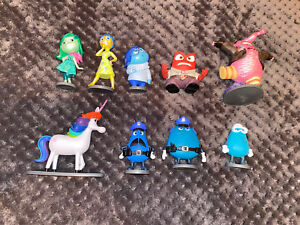 Disney Store Inside Out Figures Bundle Pixar Collectors Toys