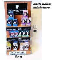 FLOOR STANDING SHOP DISPLAY HAIRDRESSING  DOLLS HOUSE MINIATURE