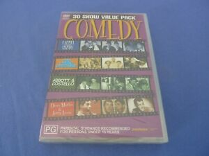 COMEDY 30 Show Value Pack DVD Dean Martin Jerry Lewis R0 New Sealed Free Tracked