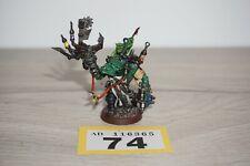 Warhammer 40k Space Orks-Orko painboy Lote 74 Pintado & basado
