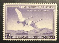TDStamps: US Federal Duck Stamps Scott#RW17 Unused Regum