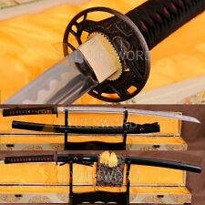 Handmade 1060 Carbon Steel Samurai Katana Sharp Blade Full Tang Japanese Sword