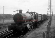 PHOTO  GWR 6871 BOURTON GRANGE ON A FITTED FREIGHT JUSTAT ABERGAVENNY JUNCTION
