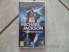 JEU SONY PSP : MICHAEL JACKSON THE EXPERIENCE    F105