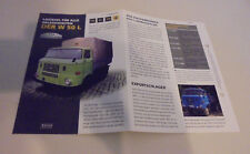 Datasheet IFA w50 L W 50 GDR vehicle load Donkey For All Occasions Atlas