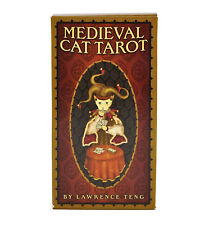 The Medieval Cat Tarot Deck/Cards - Discounted for Small Scuff on Box