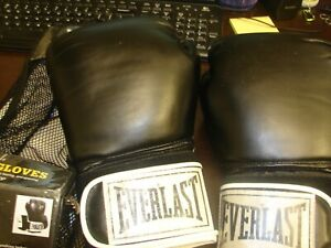 Everlast Pro Style Boxing Training Hook & Loop Gloves 14 OZ. Model #2314
