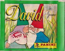 "Originale Tüte ""David, der Kabauter"" (1986) Panini Aufkleber OVP RTL2 Klabauter"