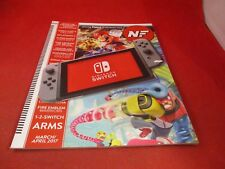 Nintendo Force Magazine Issue #26 March/April 2017 Nintendo Switch Console Cover