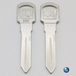 "B89 ""Small Head"" Key Blanks for Various Models by Oldsmobile and others (5 Keys)"