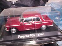 PEUGEOT 404 - 1965 - SCALA 1/43