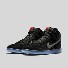 Nike SB Dunk High Prem Flash - Black Ice Clear - Size 10 (806333-001)