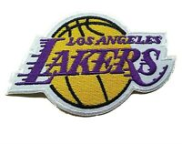 Los Angeles Lakers NBA Basketball Fully Embroidered Iron-on Patch Kobe Bryant