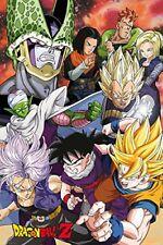 Dragon Ball Z Cell Saga Anime Maxi Poster Print 61x91.5cm | 24x36 inches