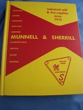 Munnell & Sherrill catalog Industrial Mill & Fire Fighting Supplies 1979