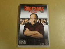 4-DISC DVD BOX / THE SOPRANOS / LES SOPRANO - SEIZOEN 1 / SAISON 1
