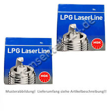 8x NGK Laserline Zündkerze LPG 5  1516  für LPG CNG  VOLVO