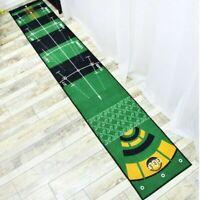 300*50cm Golf Practice Putting Mat Golf Carpet for Office Indoor Outdoor Garden