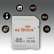 Wi-Fi Wireless S-DHC Class 10 SD 32GB Memory Card for eye fi transcend ez Share
