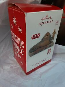 2013 Hallmark Keepsakes At Jabba's Mercy Star Wars Christmas ornament