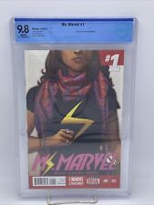 Ms. Marvel #1 9.8 CBCS 1st Kamala Khan Ongoing Avengers Champions 2014 Not Cgc