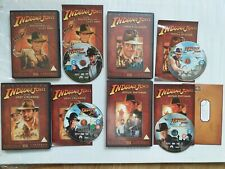 THE ADVENTURES OF INDIANA JONES THE COMPLETE DVD MOVIE COLLECTION