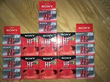 22 Sony HF 90 D90 Blank Cassette Tape  NEW SEALED