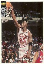 Carte card NBA Upper Deck 1994 N°240 Michael JORDAN Chicago BULLS