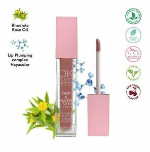 Plumping Lip Balm - 100% Natural Tinted Organic Lip Moisturizer - OK Beauty