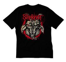 PUNK ROCK NEW RED SLIPKNOT GOAT TSHIRT SIZES S-5XL